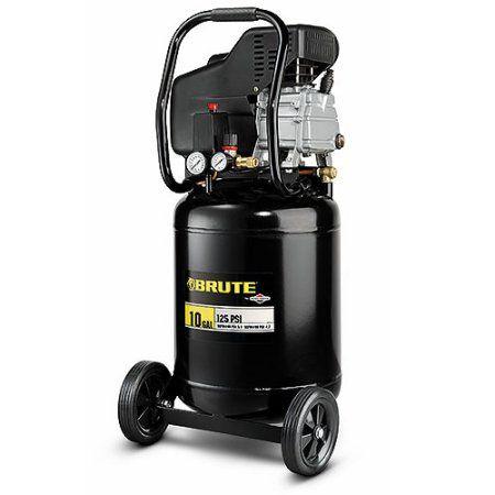 Brute 10-Gallon Vertical Air Compressor