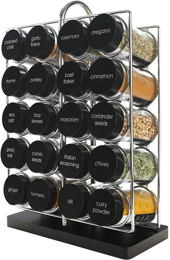 Maxwell & Williams Spice It Up 21-Piece Spice Rack #ad