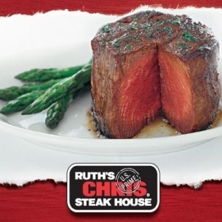 Ruth's Chris Steakhouse - THE BEST steak you will ever have!