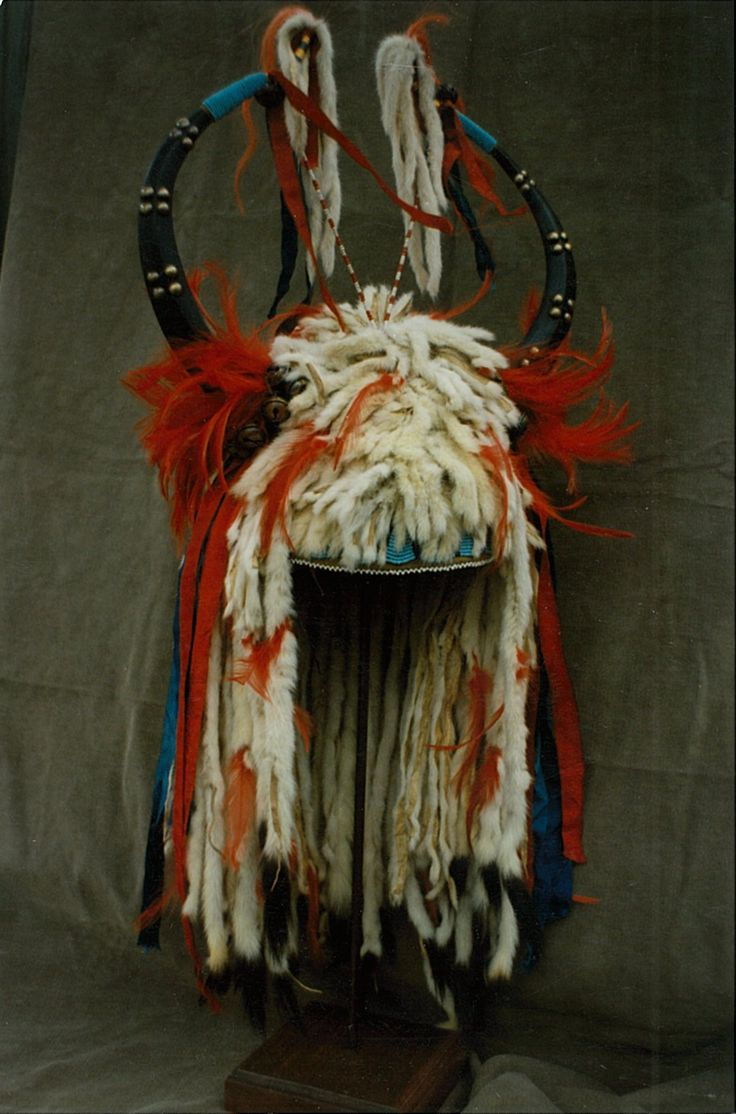 View Headdress Native Front