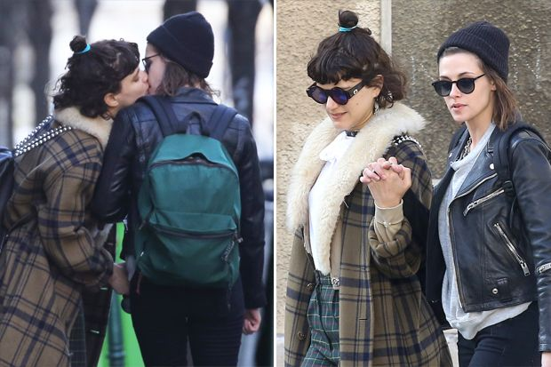 Kristen Stewart Kisses Rumored Girlfriend Soko