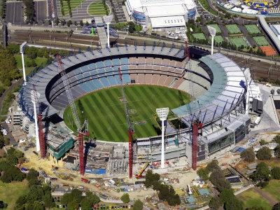 Melbourne Cricket Ground, Melbourne, Victoria, Australia  by David Wall