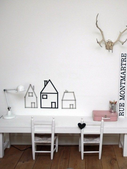 15 Washi Tape Project Ideas for Kids Rooms | Apartment Therapy