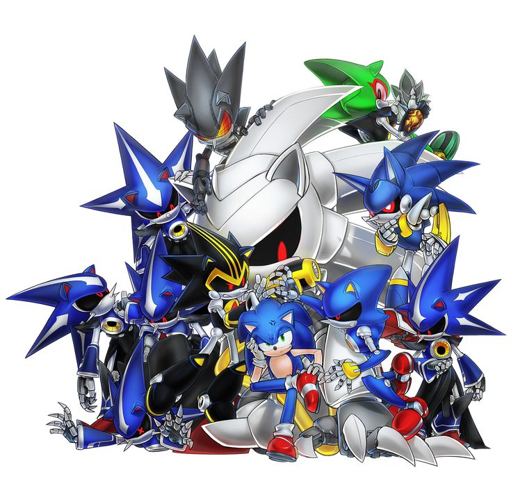 Neo Metal Sonic Vs Sonic