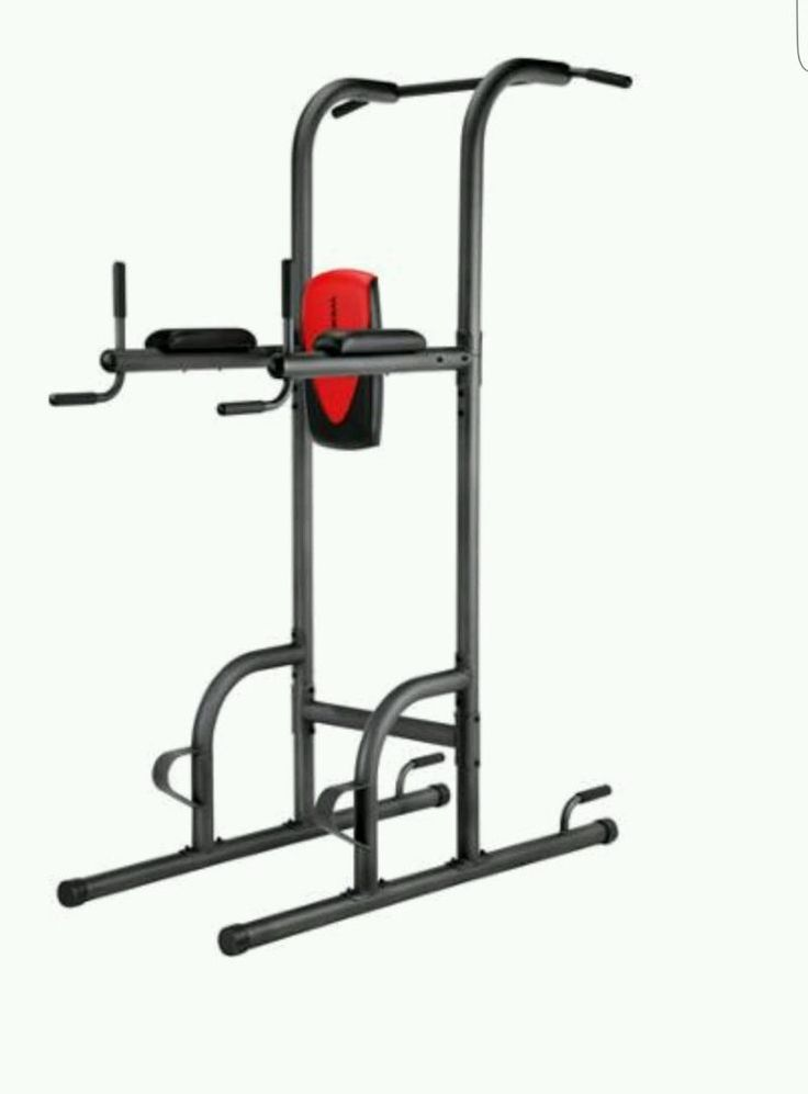 Home gym workout golds xr power tower pull up