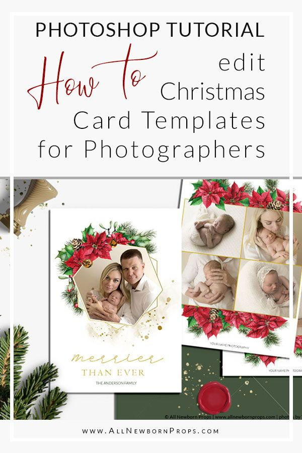 Christmas Card Templates For Photographers Photoshop Tutorial All Newborn Props Photoshop Christmas Card Template Christmas Card Template Christmas Photo Card Template