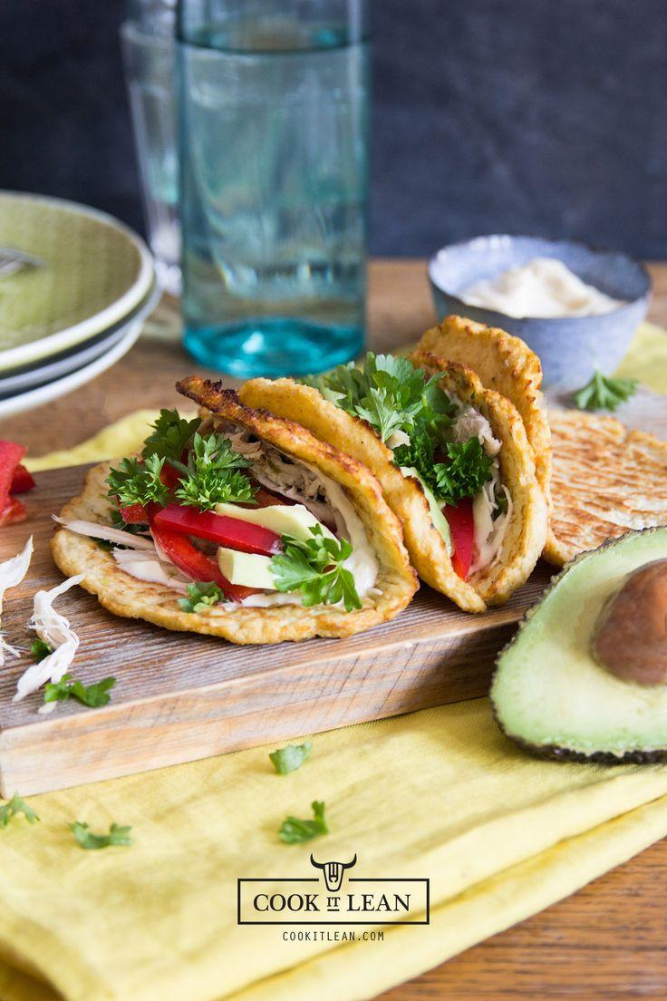 Bezzbożowe tacos z kalafiora