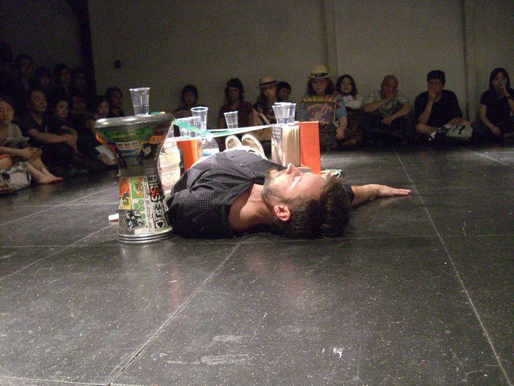 2007 .print of myself. performansz – The 12th NIPAF Asia Performance Art Series 07 – JP2007 .print of myself. performansz - The 12th NIPAF Asia Performance Art Series 07 - JP