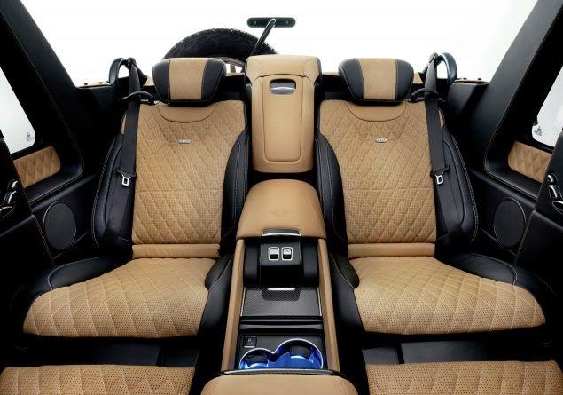 2018 Mercedes Maybach G650 Landaulet Interior Style Design