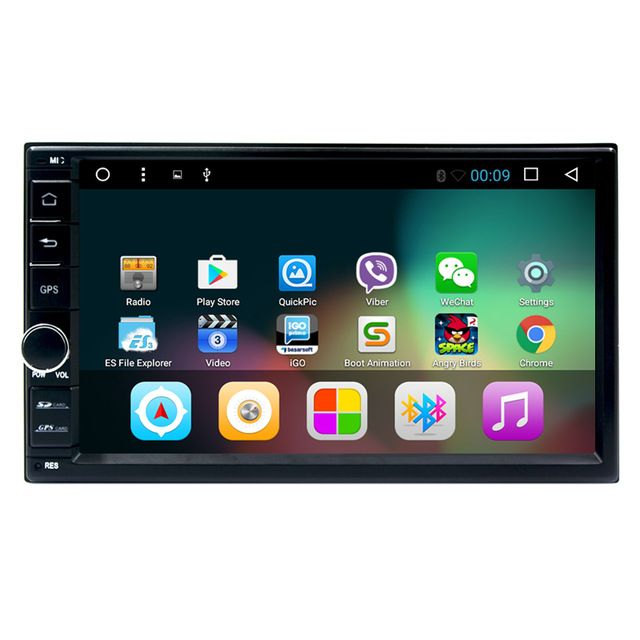 7 Inch Android 6.0 Double Din Car DVD Player universal 2 din car cassette player gps navigaton system with usb/map/bluetooth *** Find out more at the image link. #CarElectronic