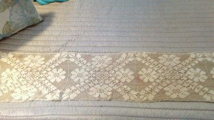 Ecru Antique Crochet Runner. Ecru Antique Crochet Runner on Tradesy Weddings (formerly Recycled Bride), the world's largest wedding marketplace. Price $32.5...Could You Get it For Less? Click Now to Find Out!