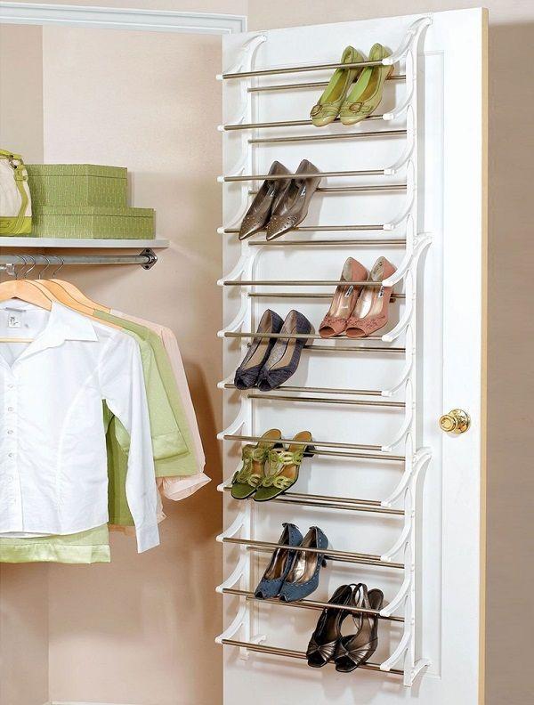 24 ideas para guardar los zapatos