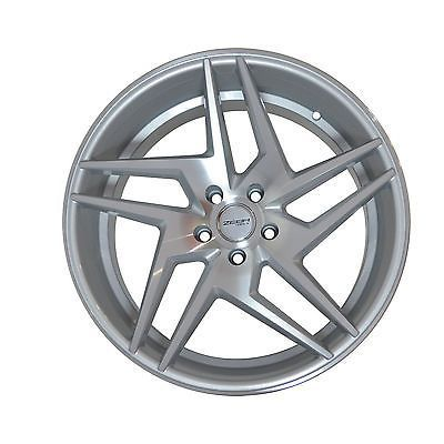 Awesome Mercedes 2017 - 4 GWG Wheels 20 inch Silver RAZOR Rims 20x10.5 fits HYUNDAI VERACRUZ 2007 - 2017...  Car and Truck Parts Check more at http://carsboard.pro/2017/2017/08/08/mercedes-2017-4-gwg-wheels-20-inch-silver-razor-rims-20x10-5-fits-hyundai-veracruz-2007-2017-car-and-truck-parts/