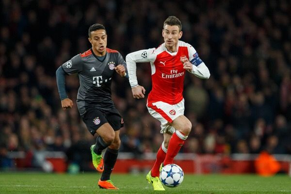 Laurent Koscielny suffers achilles injury-Dr. Parekh = Arsenal defender Laurent Koscielny with an achilles injury. MRI is likely. Depending on the severity, could miss…..