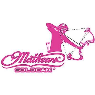 "DWD Mathews Womens Archery Pink 10""x5"" Pink"