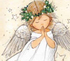 St Oswalds Hospice Shop   Praying Angel