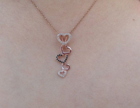 Check out this item in my Etsy shop https://www.etsy.com/listing/453608970/black-friday-sale-rose-gold-necklace