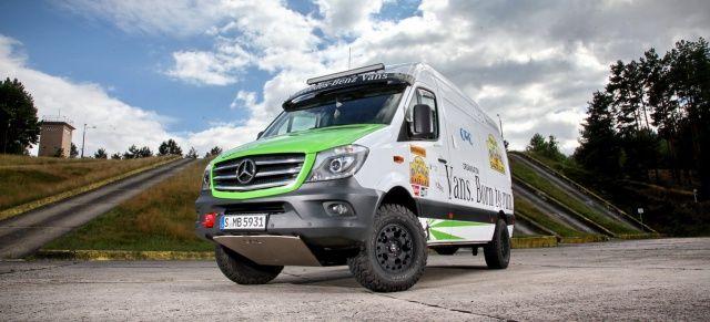 Rallye-Servicefahrzeug Mercedes-Benz Sprinter 316 CDi 4x4 KaWa: Die dicke Berta für alle Fälle!