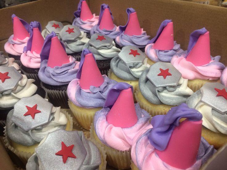 Knights and princess theme birthday cupcakes