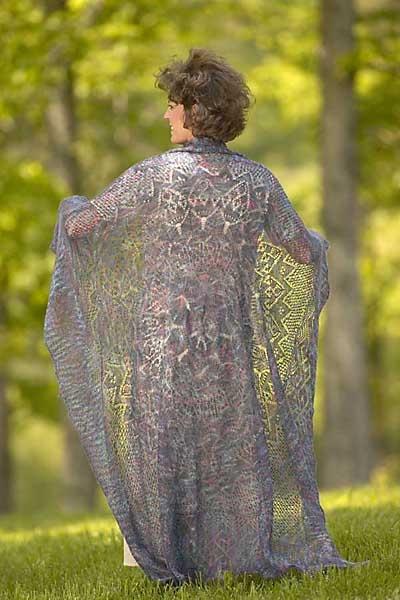 Reflections Shawl, Lace Knitting
