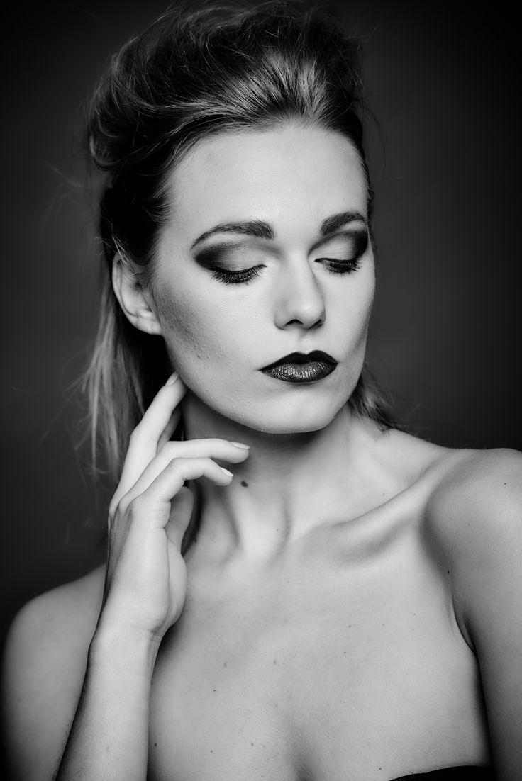Black and white photoshoot