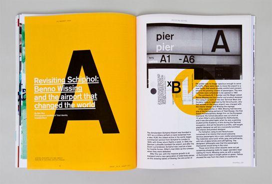 Layout Print magazine