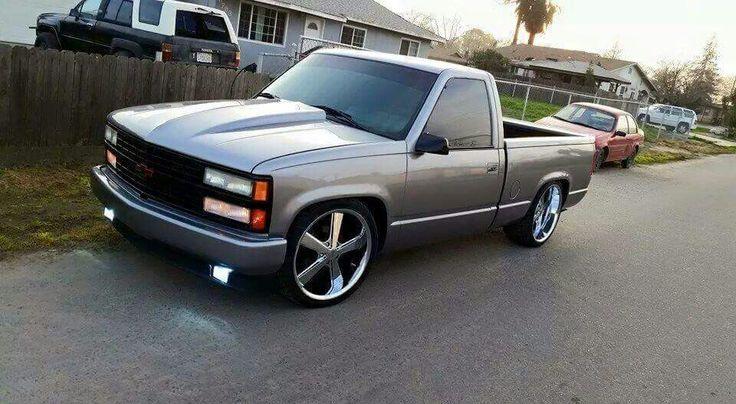 Chevy truck..