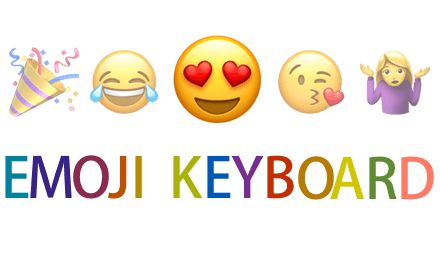 An online emoji keyboard that lets you input emojis right on the web browser with an extensive search functionality.