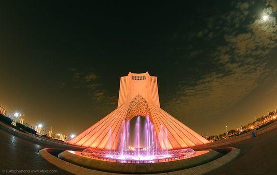 Milad Hosseini Dehkordi saved to Iran meidan Azadi (Freedom roundabout), Tehran, Iran