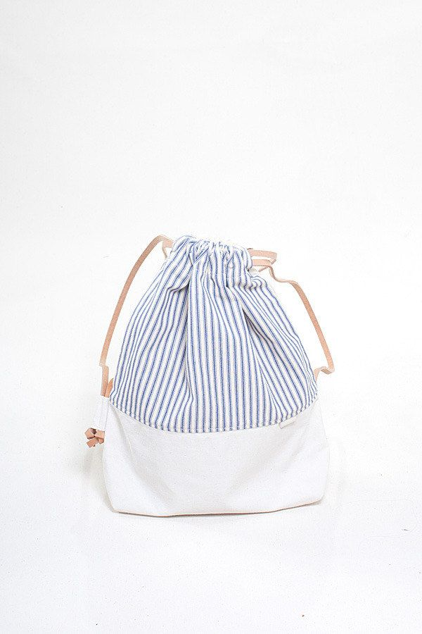 so cute - The Stowe Drawstring Backpack.