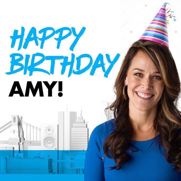 Happy Birthday To Amy Of The K-LOVE Morning Show!