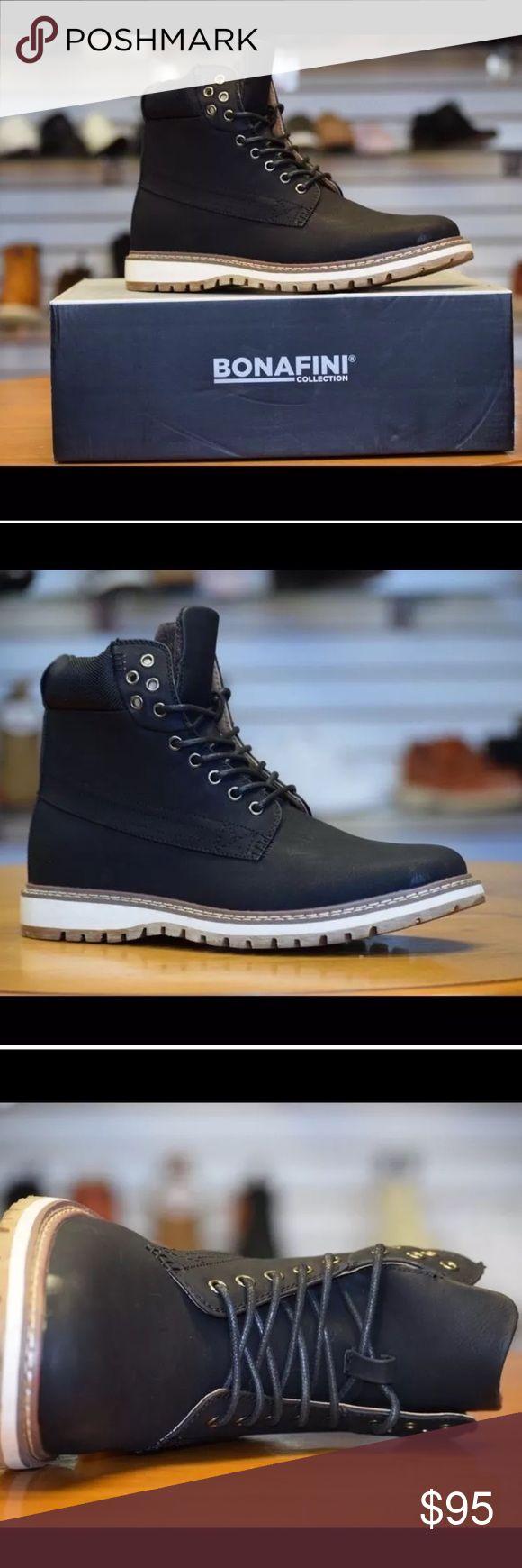 Bonafini Black Men's Casual Boot Sz 8.5 NIB New in box bonafini Lace up casual boots Sz 8.5 new in box. Bonafini Shoes Boots