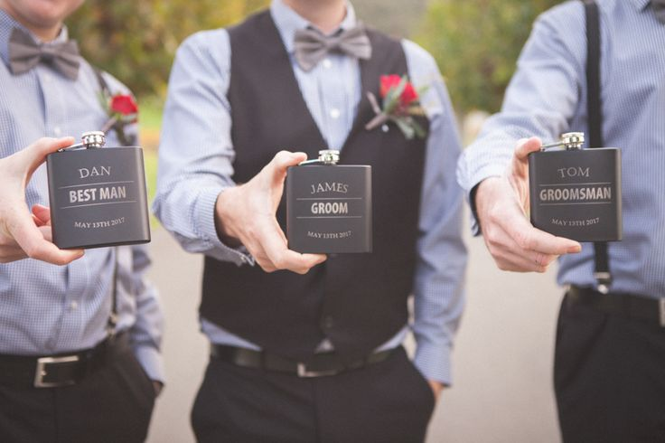 The Boys in blue. Bianca and James wedding day was a delicious tumble of rich red blooms and satin ribbon, blue gingham and bow ties, autumn colour and cute furry friends with thanks to Rei Bennett Photography.