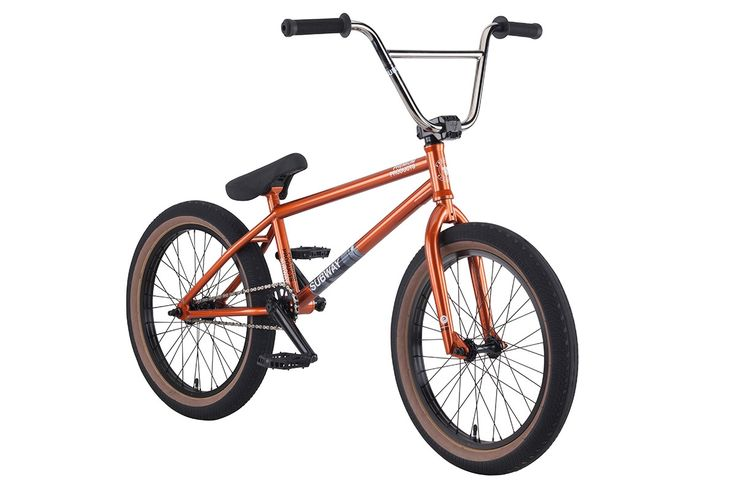 "Premium Subway Complete 20.75"" BMX Bike Gloss Copper – Bakerized Action Sports"