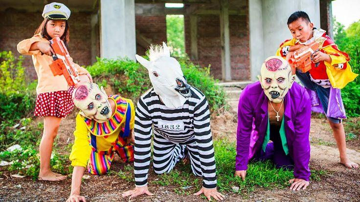 Police is Warden Baby Prince arrested Joker & Clown Escape Elsa Learn Co...