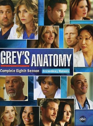 This set serves up every episode from the eighth season of GREY'S ANATOMY, the…