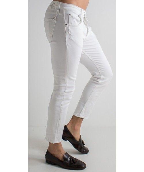 Jeans Ale New in cotone dalla vestibilità slim disponibile anche in verde.