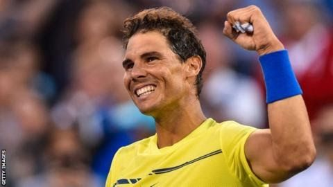 Rafael Nadal will become world number one if he progresses to the semi-finals in Canada  Rafael Nadal and Roger Federer both won their opening matches at the Rogers Cup in Montreal.  Top  seed Nadal 31 who will claim the world number one spot from Andy  Murray if he reaches the semi-finals in Canada beat Borna Coric 6-1  6-2. Murray pulled out of the competition with a hip injury which has also ruled him out of the Cincinnati Masters. Federer playing in his first match since winning the…