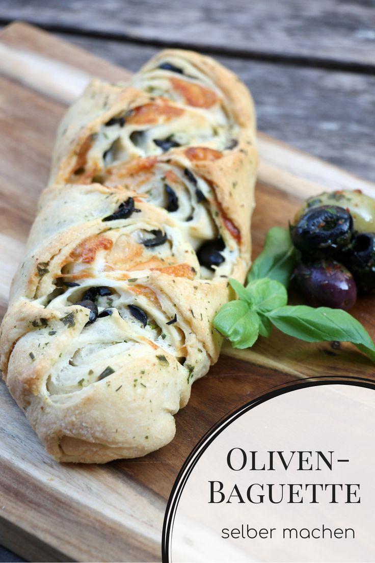 Rezept: Oliven Baguette selber machen ist mit diesem Baguette Rezept gar nicht s…