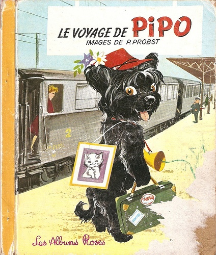 Le Voyage de Pipo,front cover. Illustrated by Pierre Probst.