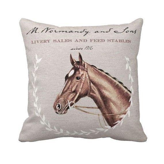 Kissen decken Pferd Stallungen Pferd Decor Kissen