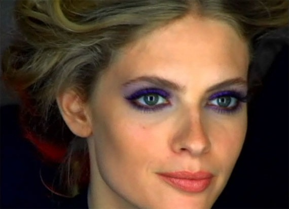 Tutorial make up Maybelline: trucco viola per occhi verdi