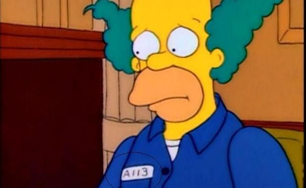 Hey Becky Blackwell, look at #6!  12 Simpsons Easter Eggs You Might Have Missed | Mental Floss