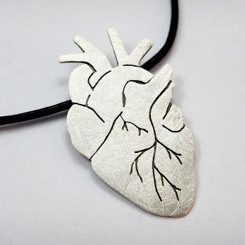 Heart shaped pendant - Karolina Kropińska – Google+