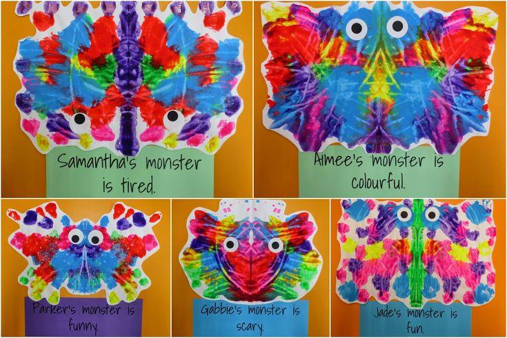 Monster blob paintings!