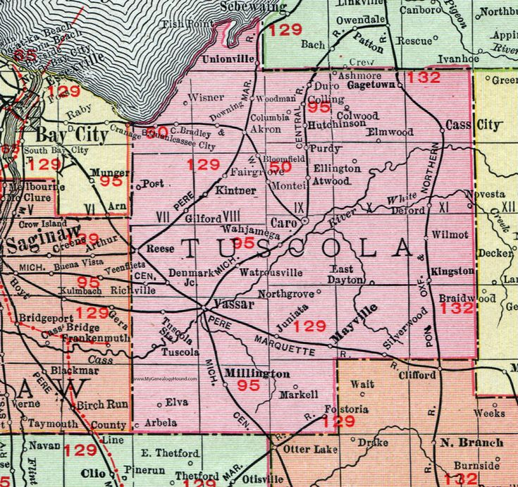 Best Historic Michigan County Maps Images On Pinterest - Mich map