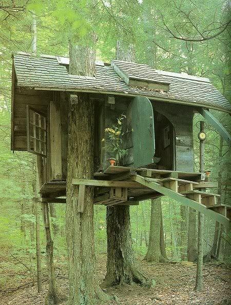 tree cottage.