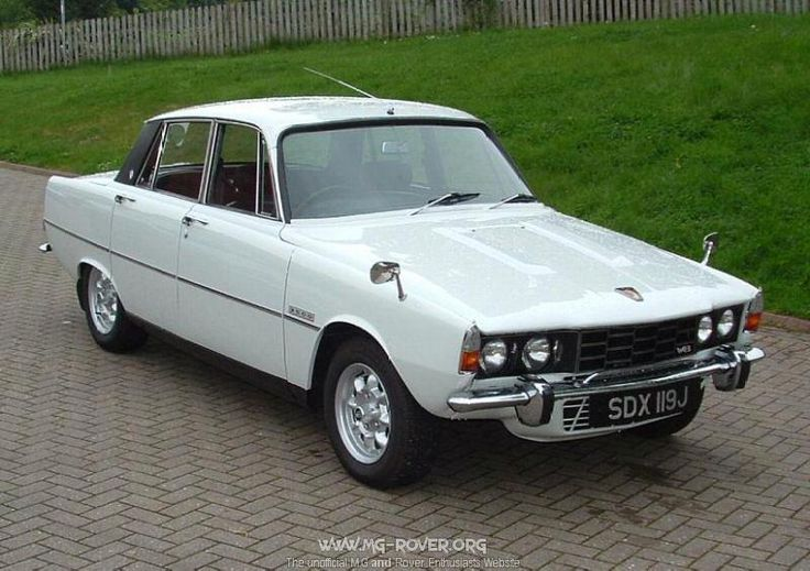 Rover P6 3500s I had one exactly like this, Minilites except mine had a full length sunroof...Great sound, elbow out the window experience.