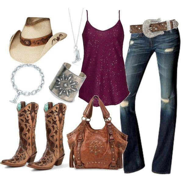 Country Girl Style Love Everything But I 39 D Rather Have Just Plain Brown Boots Clothes