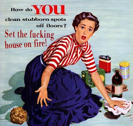 Funny Vintage Women Quotes Vintage 1950's housewife memes